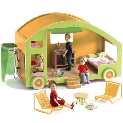 Caravane pour poupées  par Djeco