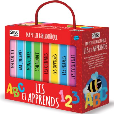 Lot de 8 livres Lis et apprends  par Sassi Junior