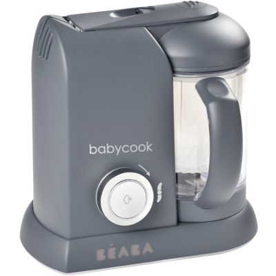 Robot cuiseur Babycook Solo gris foncé Béaba