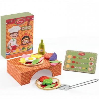 Atelier pizza Luigi  par Djeco