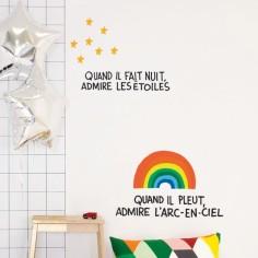 Stickers muraux Admire les étoiles