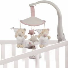 Mobile Amelie ours rose