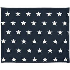 Tapis de parc plastifié Little star étoile bleu foncé (75 x 95 cm)