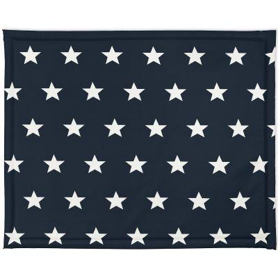 Tapis de parc plastifié Little star étoile bleu foncé (75 x 95 cm)  par Jollein