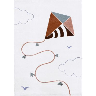Tapis rectangulaire Cerf Volant (100 x 150 cm)  par Art for Kids