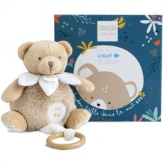 Peluche musicale ours luminescent UNICEF (18 cm)