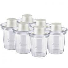 Lot de 6 pots de conservation pour lait en poudre (260 ml)  par Tommee Tippee