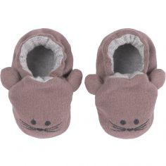 Chaussons Little Chums souris (0-6 mois)