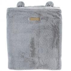 Couverture polaire gris clair Mix & Match (75 x 100 cm)