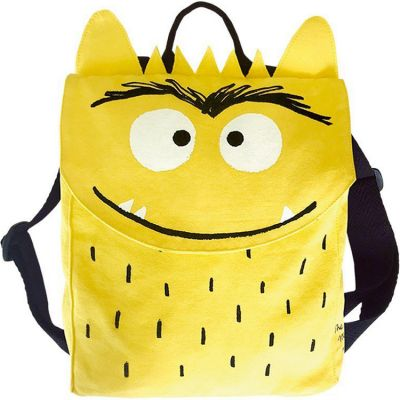 Sac à dos enfant Monstre joyeux jaune  par The Colour Monster & Co