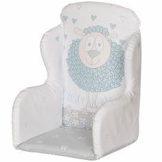 Coussin de chaise haute pvc mouton (23 x 25 x 30 cm)