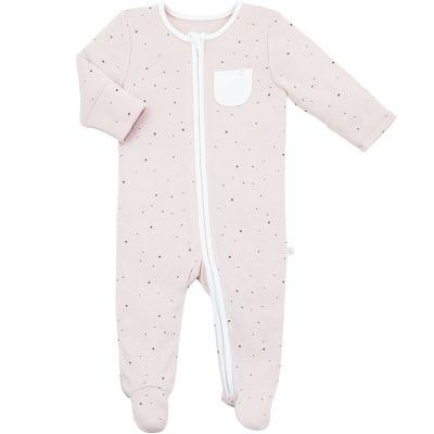 Pyjama chaud Zip Up Stardust (3-6 mois)