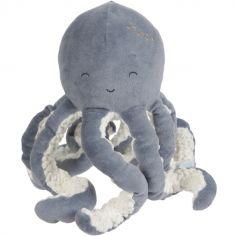 Peluche Pieuvre Ocean blue (22 cm)