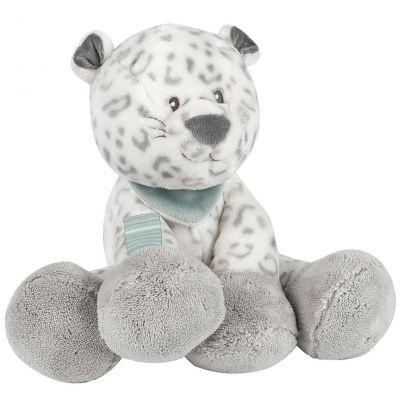 Peluche léopard des neiges Léa (24 cm) Nattou