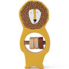 Hochet en bois Mr. Lion