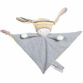 Doudou attache sucette Nin-Nin le lapin Les petits dodos - Moulin Roty