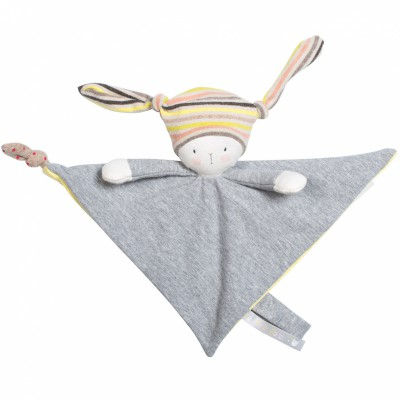 Doudou attache sucette Nin-Nin le lapin Les petits dodos Moulin Roty
