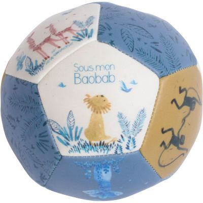 Ballon souple Sous mon Baobab (10 cm)  par Moulin Roty