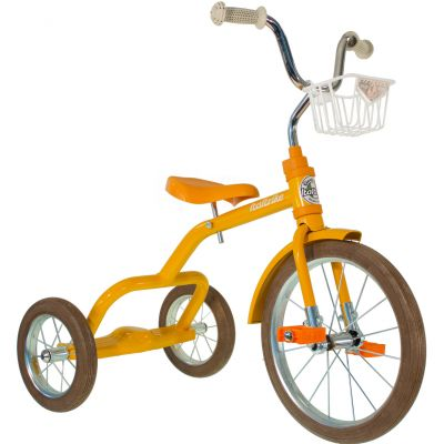 Tricycle Spokes avec panier avant 16'' orange Italtrike