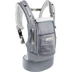 Porte bébé PhysioCarrier en coton gris