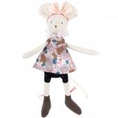 Poupée souple petite souris Lala Il était une fois (24 cm) - Moulin Roty