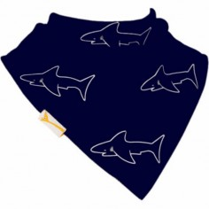 Bavoir bandana Gang de requins