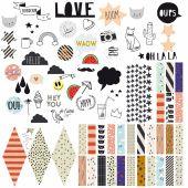 Stickers Happy pin board - Mimi'lou
