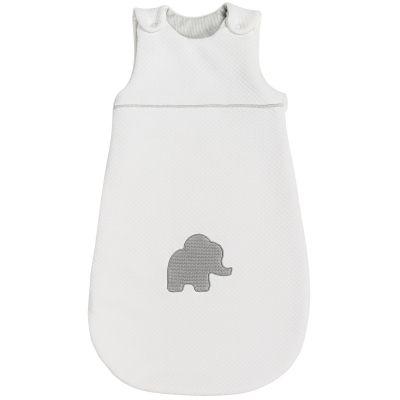 Gigoteuse Tembo l'éléphant jacquard blanc (70 cm)  par Nattou