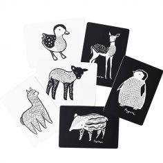 Cartes imagier pour bébé les bébés animaux