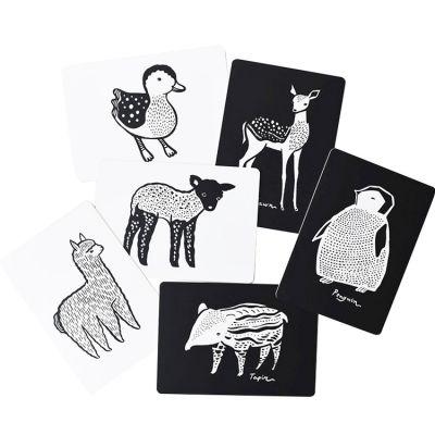 Cartes imagier pour bébé les bébés animaux Wee Gallery
