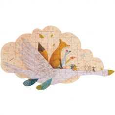 Puzzle oie Le Voyage d'Olga (124 pièces)