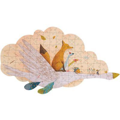 Puzzle oie Le Voyage d'Olga (124 pièces)  par Moulin Roty