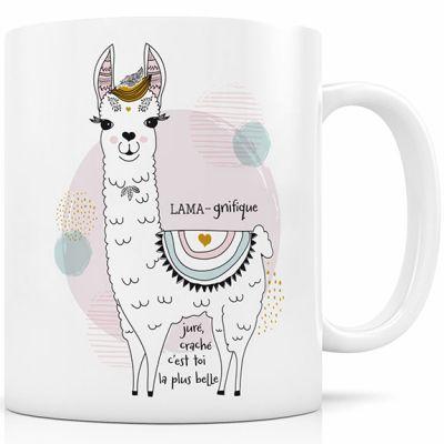 Mug en céramique Lama-gnifique