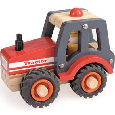Tracteur en bois Egmont Toys