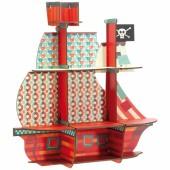 Etagère bateau Les trésors du pirate - Little big room by Djeco