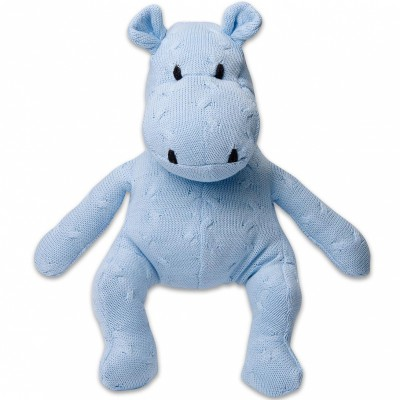 Peluche hippopotame Cable Uni bleu (35 cm) Baby's Only