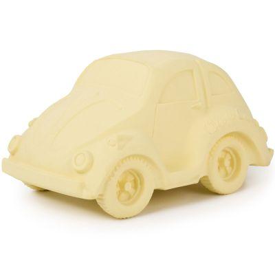 Grande voiture Coccinelle latex d'hévéa vanille  par Oli & Carol
