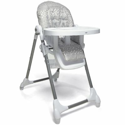 Chaise haute évolutive Snax Grey Spot  par Mamas and Papas