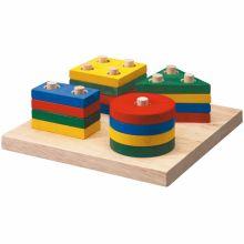 Empilages géométriques  par Plan Toys