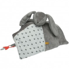 Doudou attache sucette Tidou Gaby Timeless