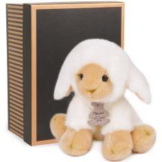 Coffret peluche agneau Les authentiques (20 cm)