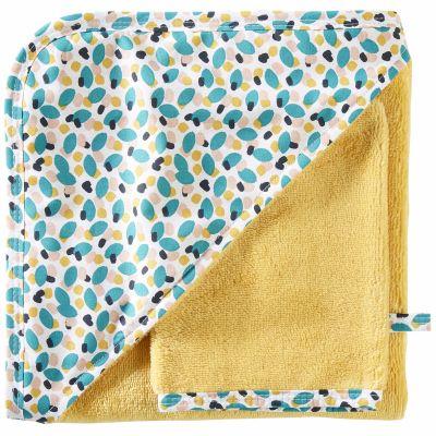 Cape de bain + gant en bambou Baby Pop (70 x 70 cm)  par BB & Co