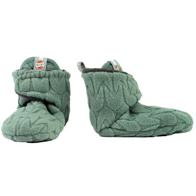 Chaussons vert Slipper Empire (0-3 mois)  par Lodger