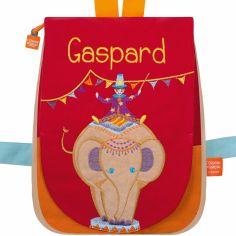 Sac à dos Eléphant circus (personnalisable)