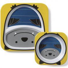 Coffret repas chauve-souris zoo (2 pièces)