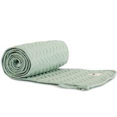Tour de lit Alexandria coton bio Provence green (pour lits 60 x 120 et 70 x 140 cm)