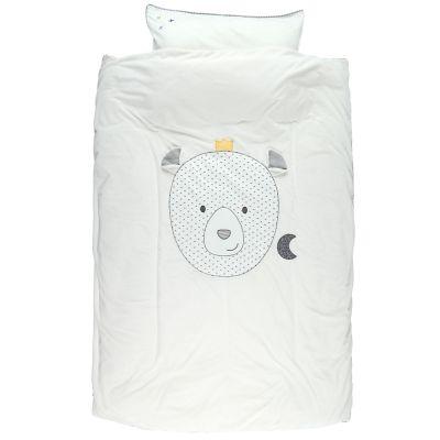 Housse de couette + taie d'oreiller Timeless (100 x 140 cm)  par Noukie's
