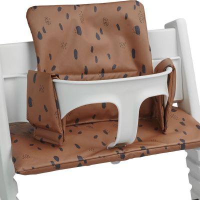 Assise pour chaise haute Stokke Tripp Trapp Spot caramel  par Jollein
