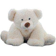 Peluche Pat'ours blanc (90 cm)