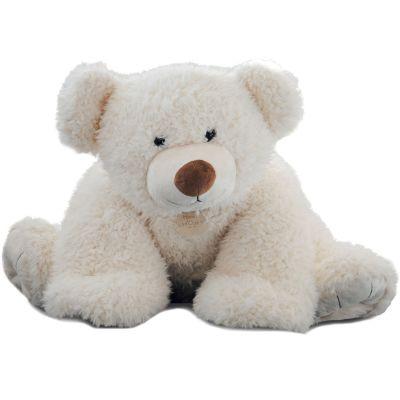 Peluche Pat'ours blanc (90 cm) Histoire d'Ours